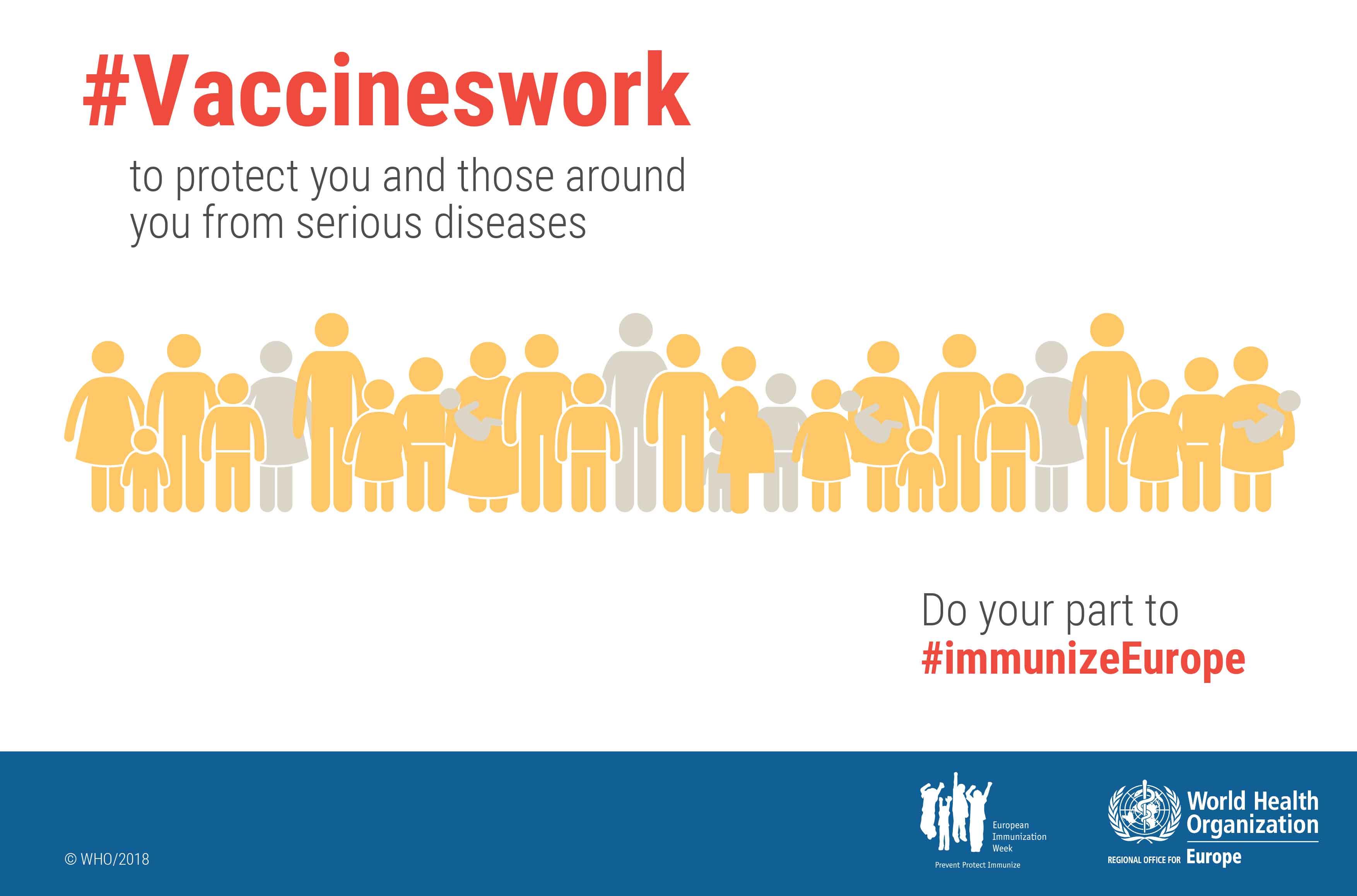 Europäische Impfwoche 2018: Impfung ist ein individuelles Recht und eine gemeinsame Verantwortung