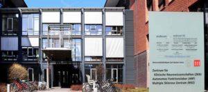 Das Multiple Sklerose Zentrum Neurowissenschaften am Universitätsklinikum Carl Gustav Carus. ©MSZ